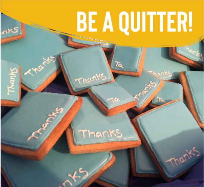 image Be A Quitter!